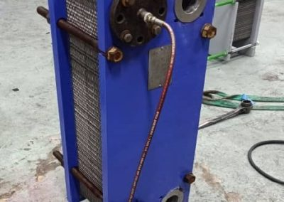 Pressure test unit after reassembly
